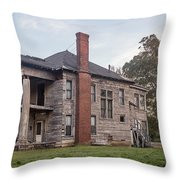 Old House Of Character Throw Pillow