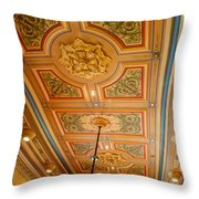 Old House Of Delegates Room Of The Maryland State House Throw Pillow