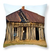 Old House Place Arkansas 3 Throw Pillow