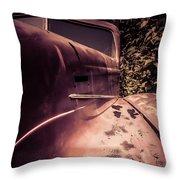 Old Hudson Car Throw Pillow