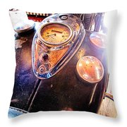 Vintage Indian 2 Throw Pillow