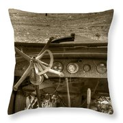 Old Inside And Out Throw Pillow