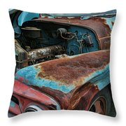 Old International Hood And Fender  Hdroc4224-13 Throw Pillow