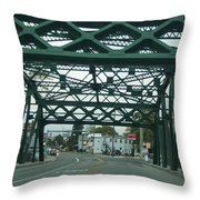 Old Iron Sides Throw Pillow