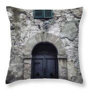 Old Italian House Throw Pillow