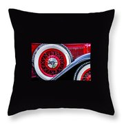 Old Jag Throw Pillow