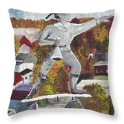 Old Jake - Winchester Series Throw Pillow