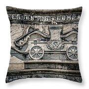 Old Jefferson Throw Pillow