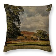 Old John Bradgate Park Leicestershire Throw Pillow by John Edwards