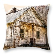 Old Kentucky Store Long Gone Throw Pillow