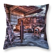 Old Kilns Throw Pillow