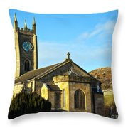 Old Kilpatrick Church 01 Throw Pillow