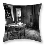 Old Kitchen Throw Pillow
