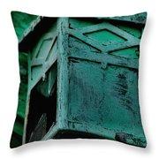 Old Lantern  Throw Pillow
