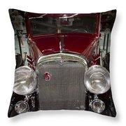 Old Lasalle  Throw Pillow