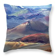 Old Lava Throw Pillow