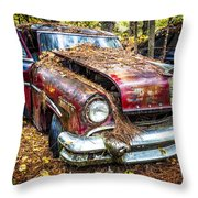 Old Lincoln Throw Pillow