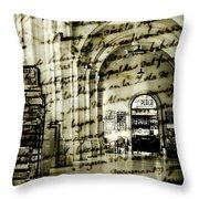 Old Mahon Town Market Throw Pillow