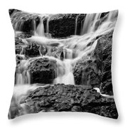 Old Man Fall Throw Pillow