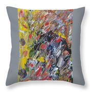 Old Man In A Chair Throw Pillow