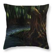 Old Man Willow Throw Pillow