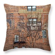 Old Market - Omaha - Metz Building - #1 Throw Pillow