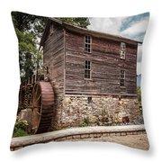 Old Mill At Forbidden Caverns Throw Pillow