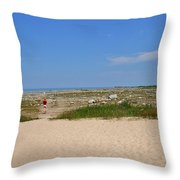 Old Mission 2005 Throw Pillow