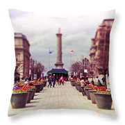 Old Montreal. Throw Pillow