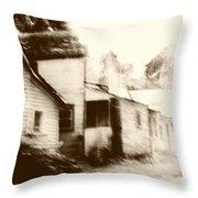 Old Neighborhood Throw Pillow