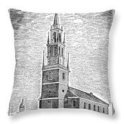 Old North Church, 1775 Throw Pillow