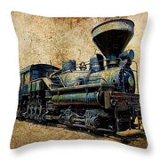 Old Number 7 Throw Pillow