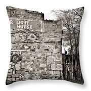 Old Opera House Throw Pillow by Marilyn Hunt