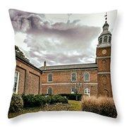 Old Otterbein Church Yard Throw Pillow