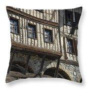 Old Ottoman House Throw Pillow