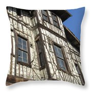 Old Ottoman Structure Throw Pillow