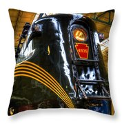 Old Pa Diesel Electric  Throw Pillow