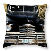 Old Packard Throw Pillow
