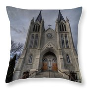 Old Perceptive Throw Pillow