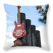 Old Plant New Life - Baltimore Inner Harbor Throw Pillow