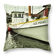 Old Point St. Michaels Throw Pillow