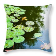 Old Pond - Featured 3 Throw Pillow
