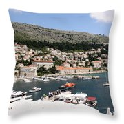 Old Port Throw Pillow