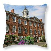Old Queens Throw Pillow