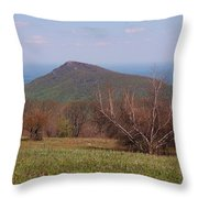 Old Rag Mountain Throw Pillow