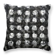 Old Records Throw Pillow