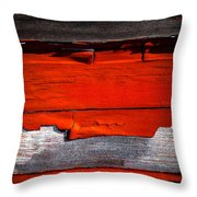 Old Red Barn Three Throw Pillow