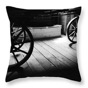 Old Rims  Throw Pillow