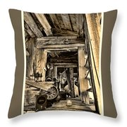 Old Rockers Attic Throw Pillow