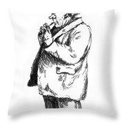 Old Sailor Throw Pillow